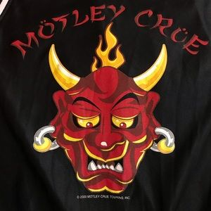 Vintage Motley Crue Muscle / Tank Top New Tattoo
